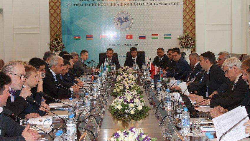 Шӯрои ҳамоҳангсозии «Евразия» дар Душанбе